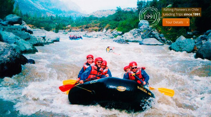 rafting maipo river