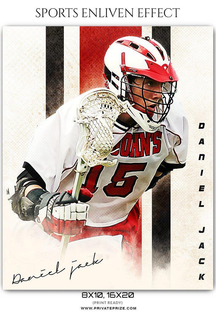 Daniel Jack - Lacrosse Sports Enliven Effects Photography Template