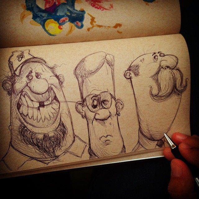 Character Design Instagram : Instagram post by adam munoa sketches