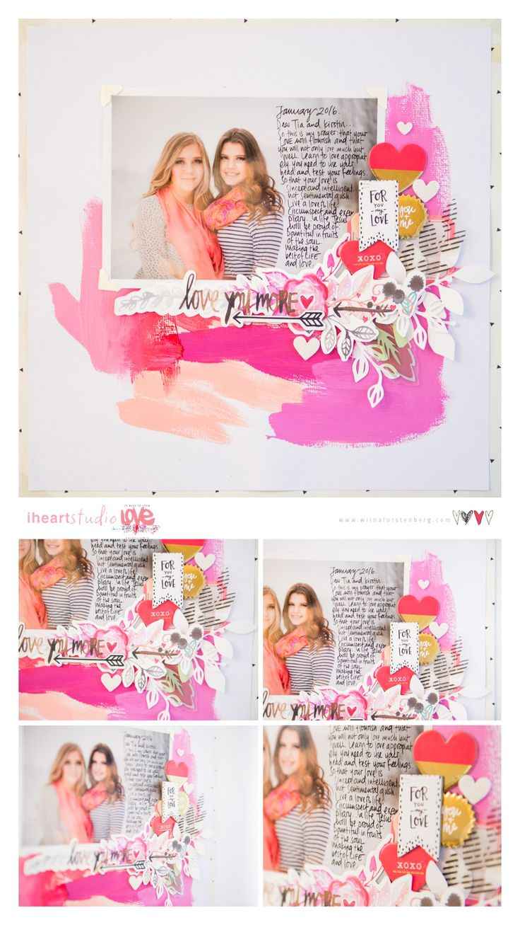 #papercrafting #scrapbooking #layouts -