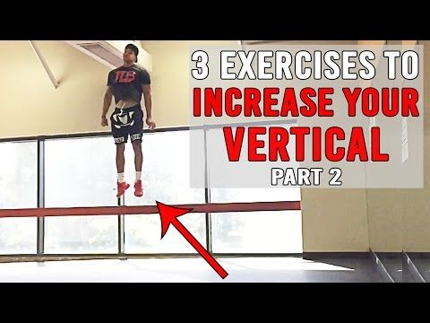 3 Exercises To INCREASE YOUR VERTICAL Pt.2 | JUMP HIGHER | The Lost Breed - YouTube