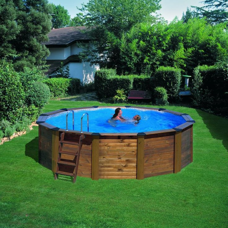 64 best Piscines Bois images on Pinterest Swimming pools, Stairs