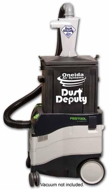 Oneida Dust Deputy - Pre-vac Cyclone dust extractor