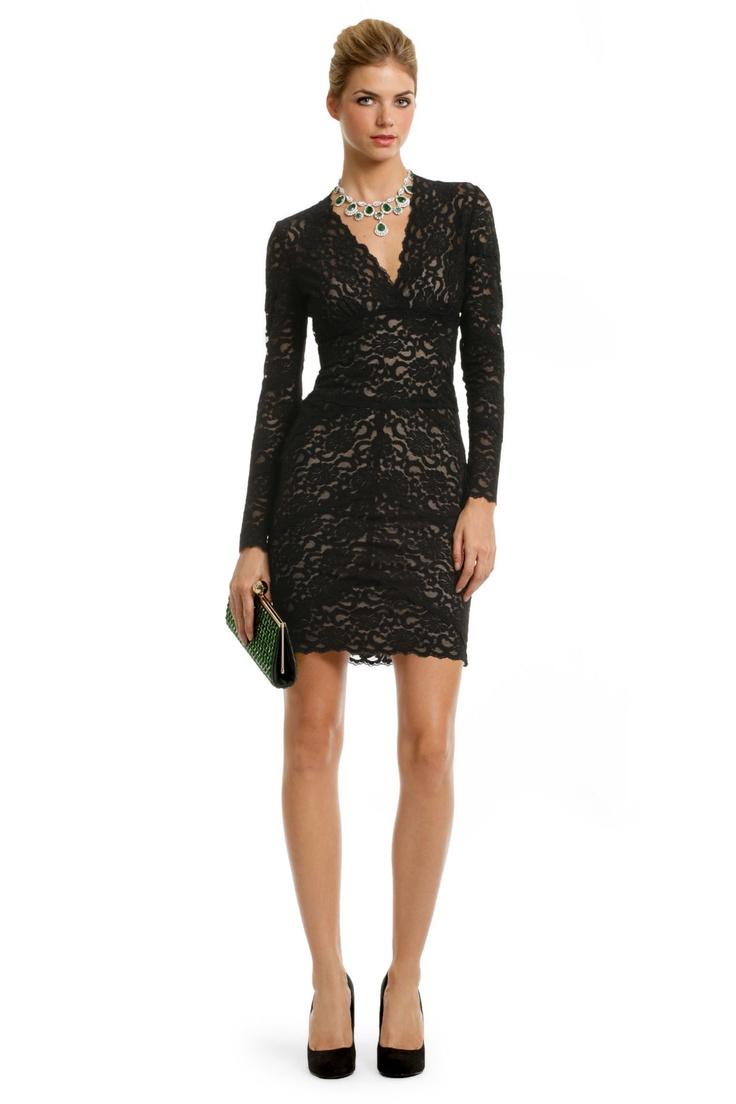 Kate Lace V Dress