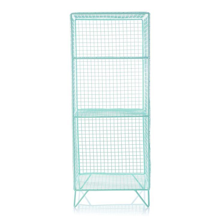 Buy Grid Three Shelf Storage Unit from Oliver Bonas