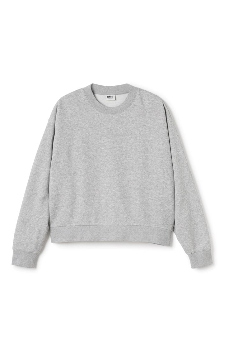 Weekday image 1 of Huge Cropped Sweater in Grey