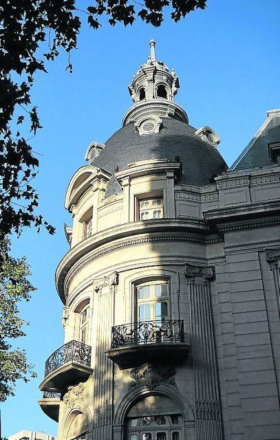 Cúpulas de Buenos Aires | Palacio Ortiz Basualdo. Hoy Embajada francesa (1912).