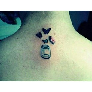 This itty bitty teeny jar.   21 Mason Jar Tattoos That Are Surprisingly Awesome