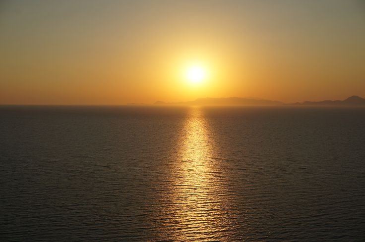 #Sunset in #Ixia #Bay #Aegean #Sea #Rhodes #Island #Greece