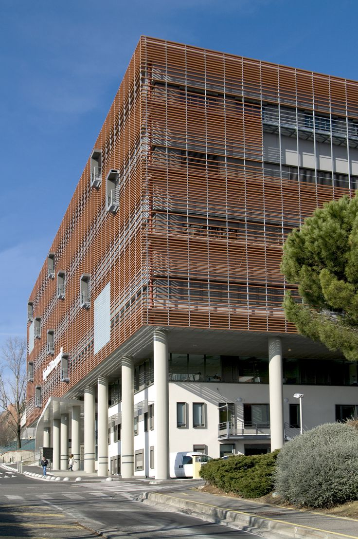 Gallery of toulouse rangueil hospital art build for Architecture toulouse