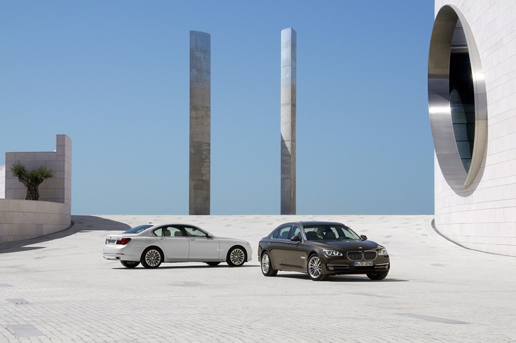 Exterior look of the BMW 7 Series #BMW #cars #luxury #high #design