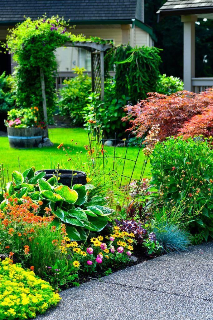 25 Magical Flower Bed Ideas And Designs Front Yard Landscaping Landscape Design Garden Design