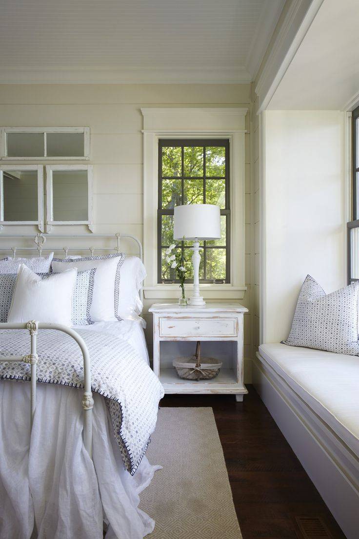Awning windows bedroom - Window Casing Via Muskoka Living Ml