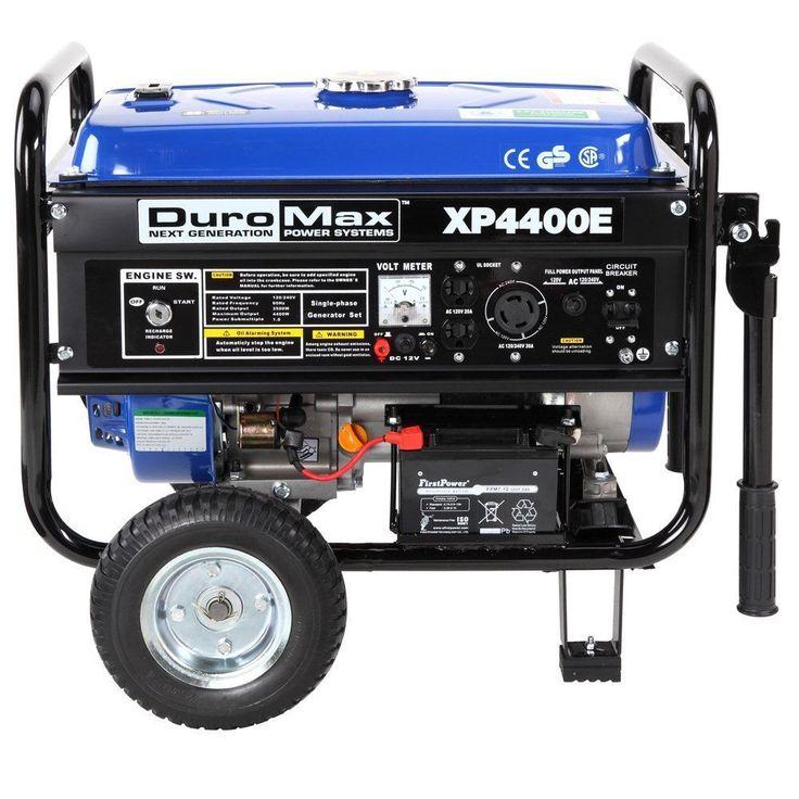 best ideas about gas powered generator power duromax xp4400 4400 watt 7 hp generator