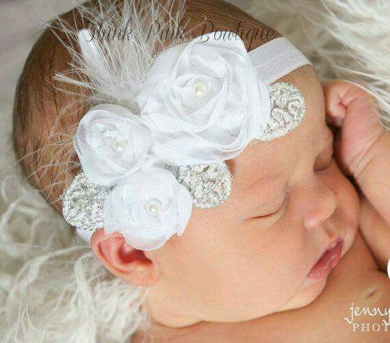 Christening Accessories For Girls!