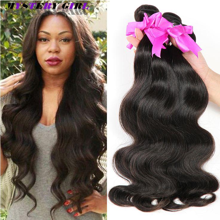 8A Brasileños Virgin Hair Body Wave 4 bundles Rosa Pelo Company Brasileño Armadura Del Pelo Humano Barato Brasileño Onda Del Cuerpo Virgen pelo