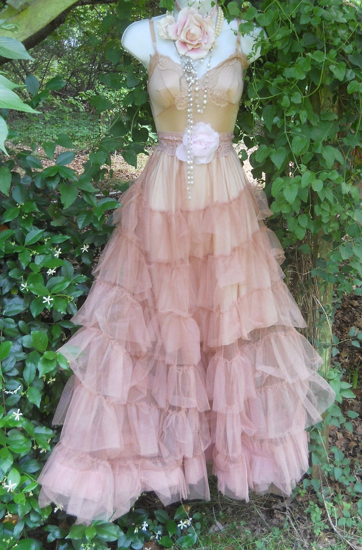 25 best images about wedding on pinterest wedding yes for Pink vintage wedding dress