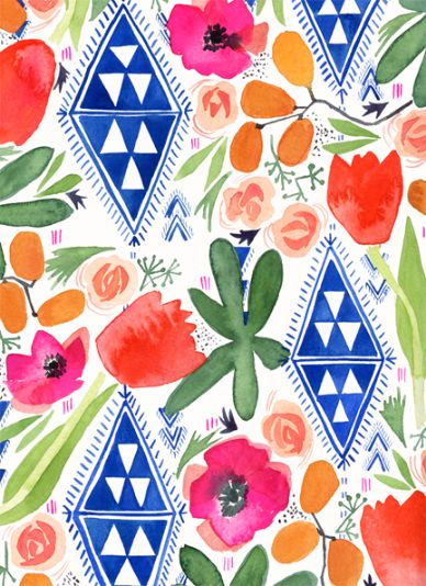 Pattern by Lindsay Gardner Art & Illustration