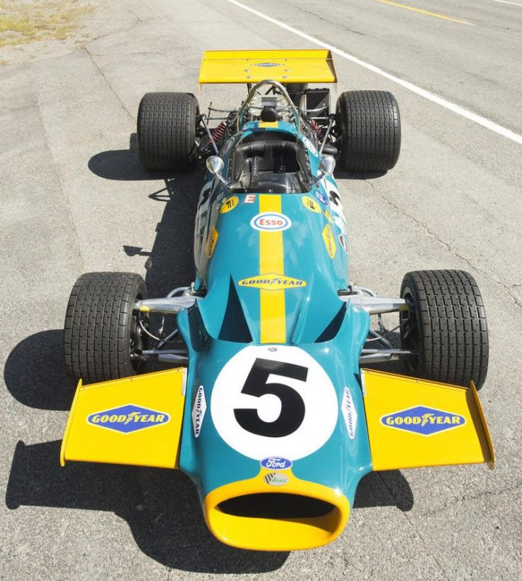 Vintage Formula 1 Car 11 740x824 1970 Brabham Cosworth Formula 1 Car