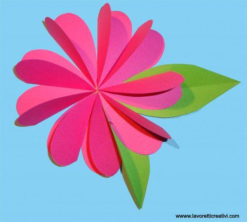 Пергаментной бумаге, цветов из цветной бумаги на открытку