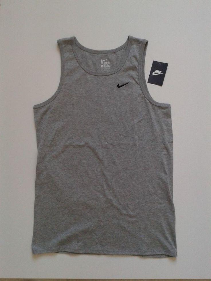 Nike Original Brand New Men Boy Sleeveless T-Shirt Size M Skater Hip Hop Style #Nike #SleevelessTee