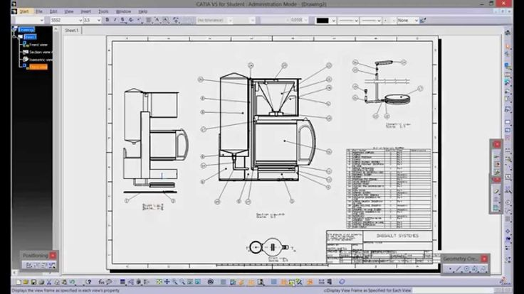 CATIA V5 - ASSEMBLY DRAFTING