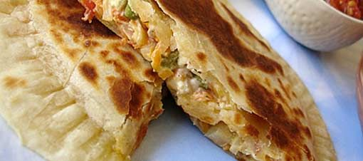 Meksika'nın sıcak lezzeti Quesadilla