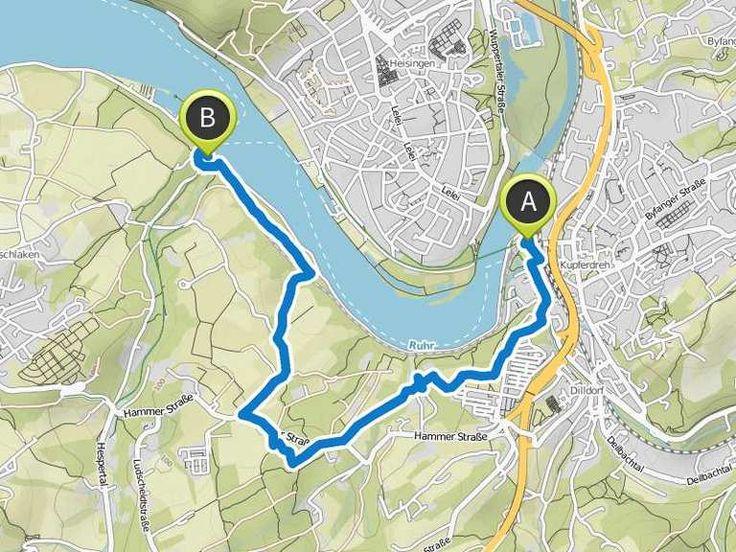 Maike hat ein Outdoor-Abenteuer mit komoot geplant! Distanz: 6,23km | Dauer: 01:42Std
