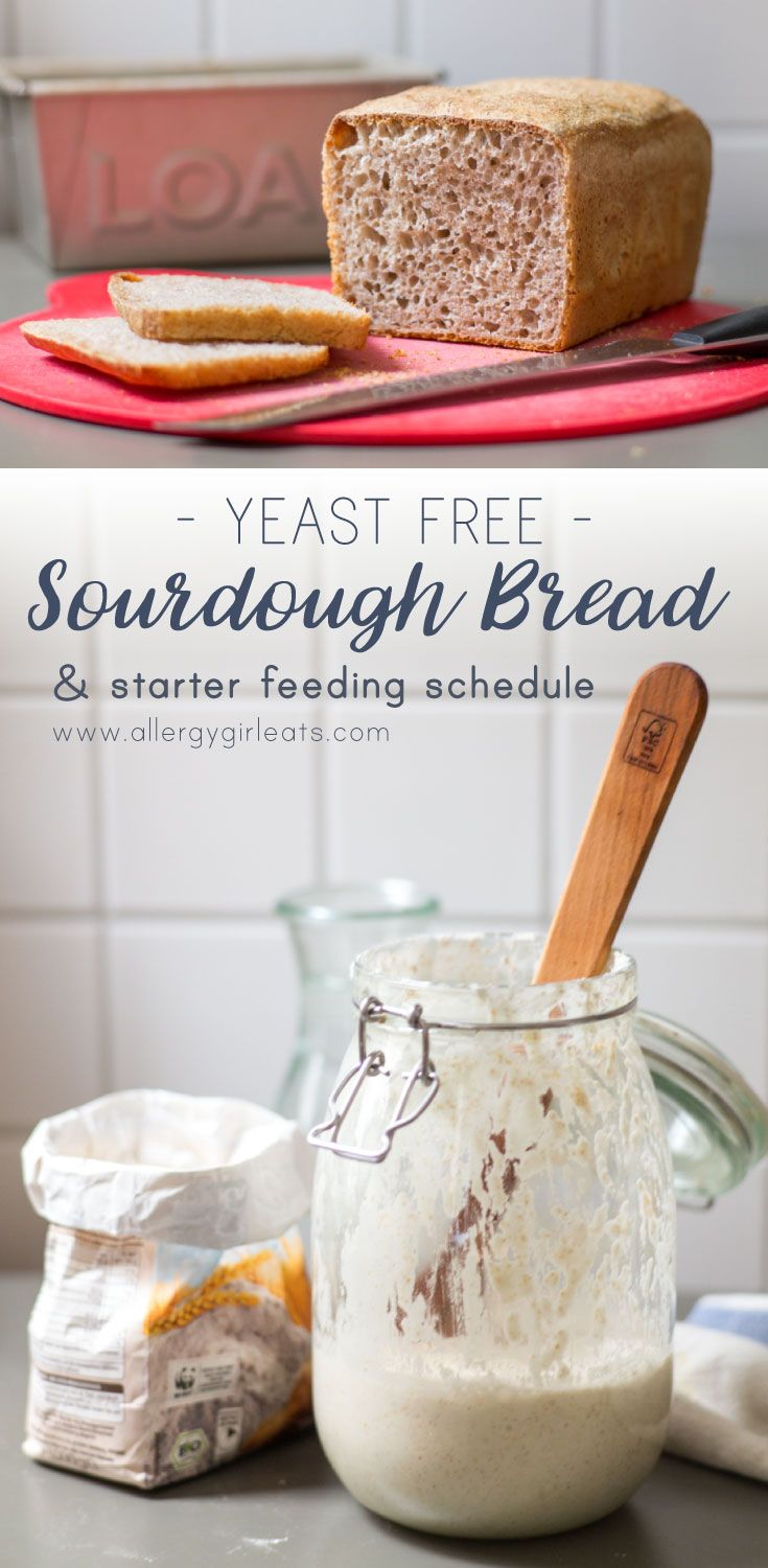Fluffy Sourdough recipe with detailed starter feeding schedule. Easy yeast free sourdough bread loaf perfect for fluffy sourdough sandwiches.