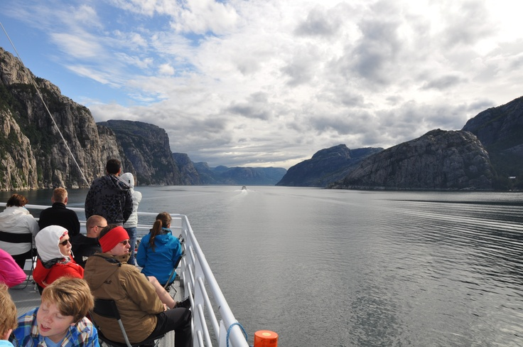 The world's most beautiful adventure - Pulpit Rock and Lysefjord #Region Stavanger.