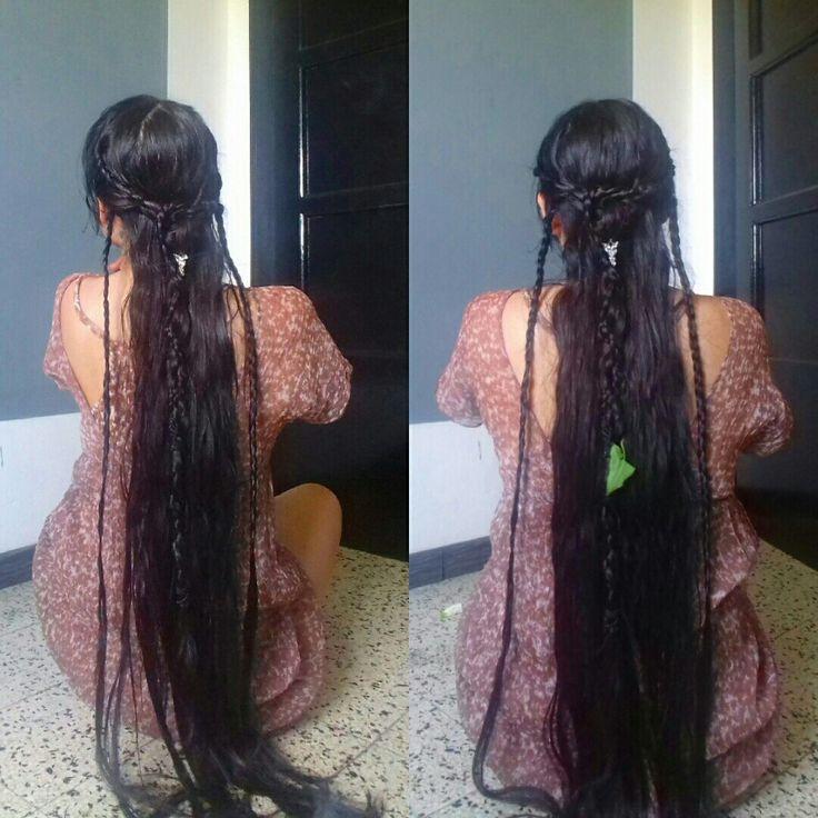Celtic/Viking Braids Hairstyle