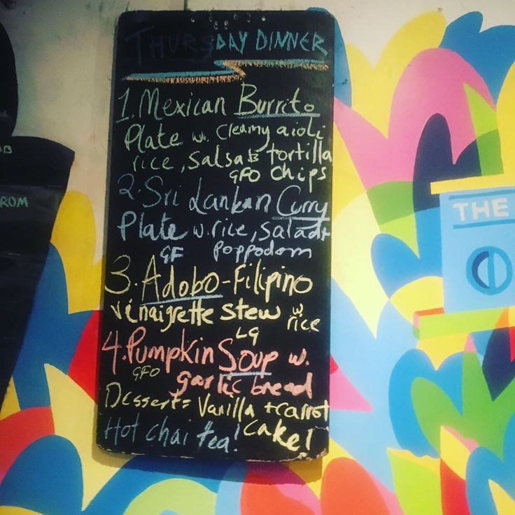 It's Thursday! Todays dinner menu at Lentil As Anything Newtown. Join us for d…