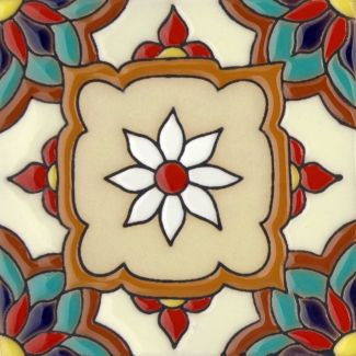 Malibu Tile Jazmin 2 From Santa Barbara Ceramic Tile Collection
