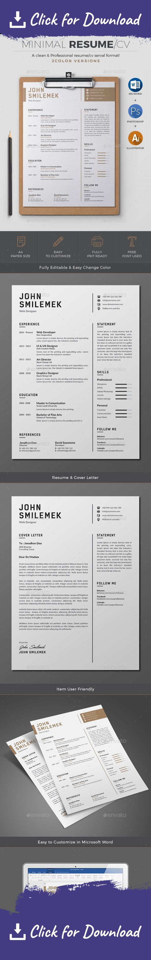 2 piece resume a4 black resume bright career