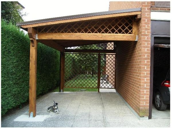 Carport idea for Red River home