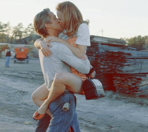 The Notebook. Someday I want to take a picture like this with my future husband. :)