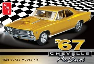 1967 Chevy Chevelle Pro Street (1/25) (fs) – Scale models cars