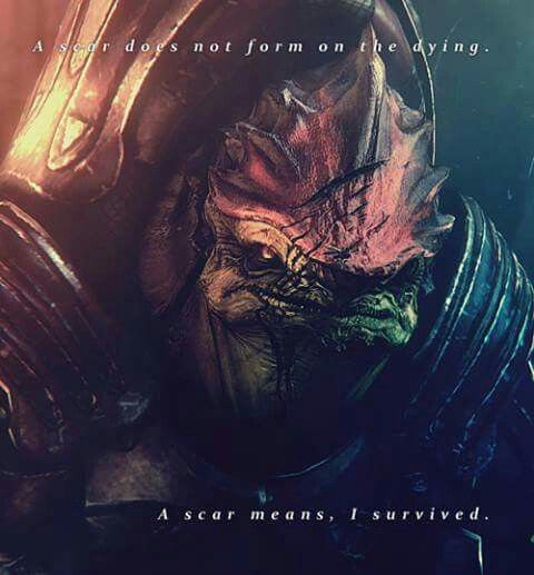 Wrex; the Krogan brother from a different mother