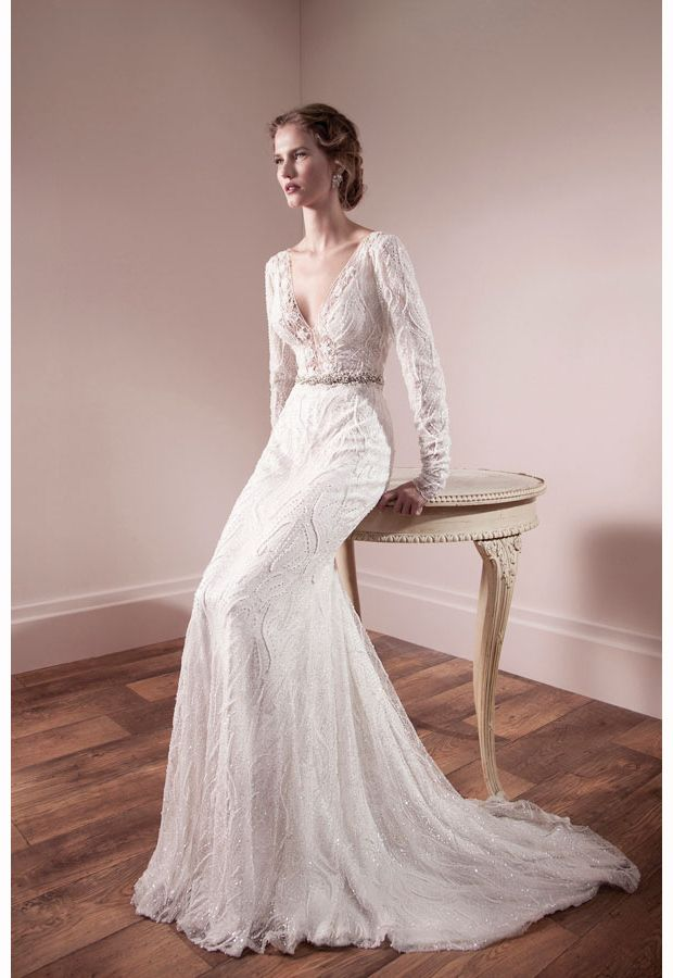 Lihi-Od-lace-wedding-dress.....What really stands out is the fabulous embellishment and design of the dresses. They look luxurious and are guaranteed to make you feel utterly special on your wedding day.