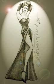 desenhos de vestidos de noiva tomara que caia - Pesquisa Google
