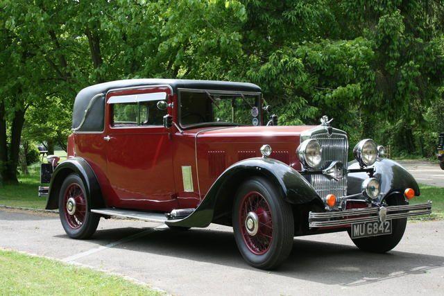 1933 Morris Isis 17.7hp Coupé