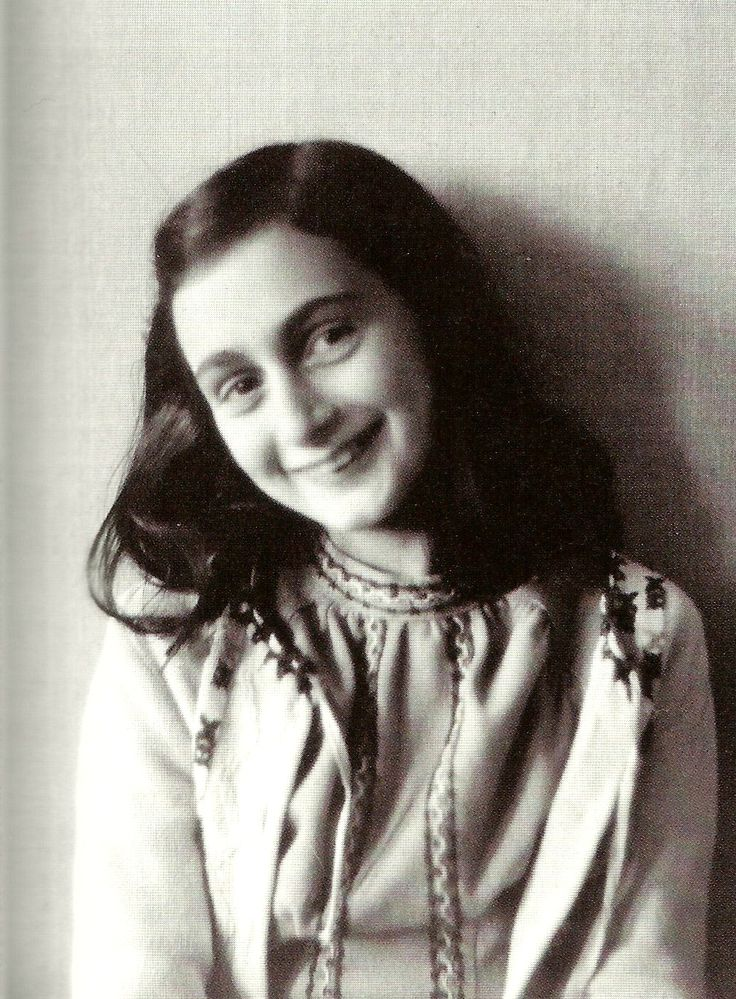 """Despite everything, I believe that people are really good at heart."" - Anne Frank"