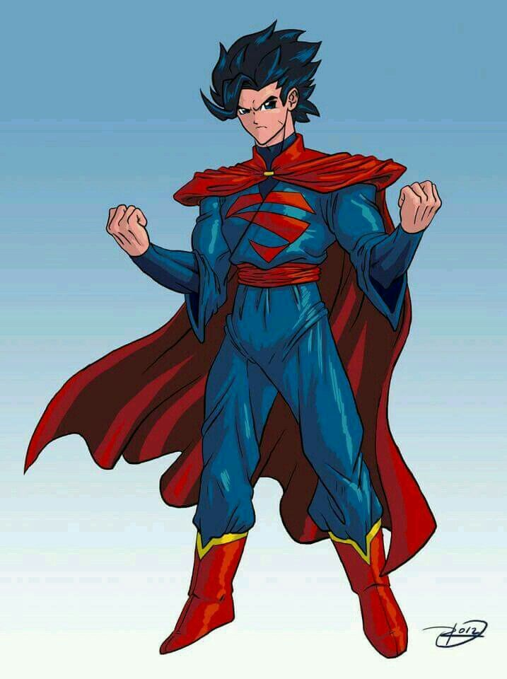 Goku superman fusion | Strength | Pinterest | Goku and ...