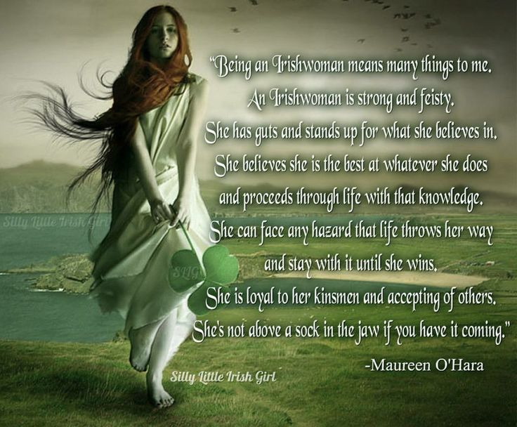 My mother named me after Maureen O'Hara, because my father's family is Irish. my given name is Maureen Joyce Stephenson