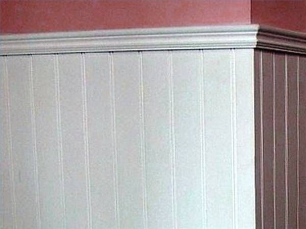 How To Install Wainscoting With A Chair Rail