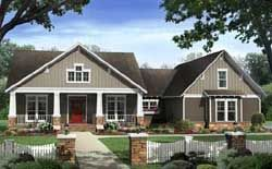 MonsterHousePlans - 2-284. 2400 sqft 4 bed, 3.5 bath. 3rd bath in bonus area. Flex space for office/guest room (murphy or sofa bed). Great layout. All kids' rooms are the same so no fighting over the bigger bedroom.