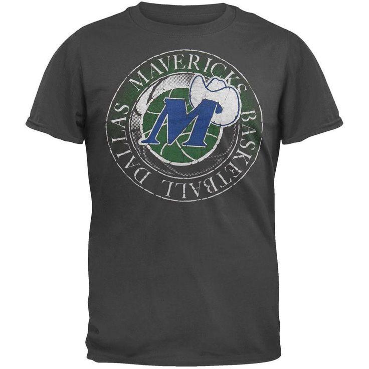 Dallas Mavericks - Basketball Logo Soft T-Shirt