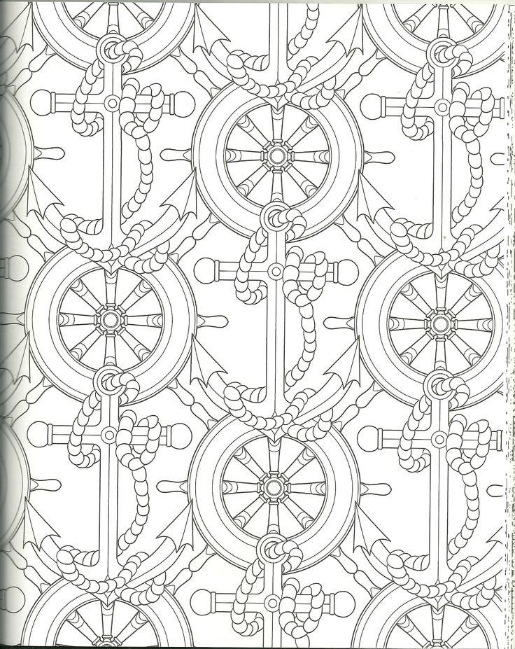 71 best my coloring pages images on pinterest coloring for Coloring pages of anchors