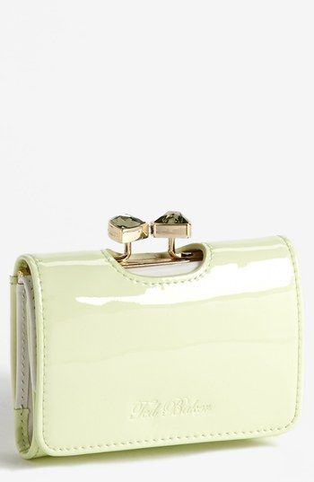Ted Baker London 'Bow Crystal - Small' Wallet | Nordstrom