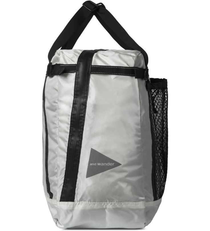 and wander White Tote Bag